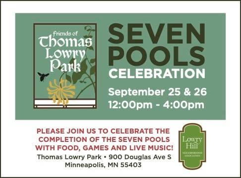 seven pools celebration